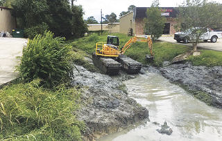 clearing drainage