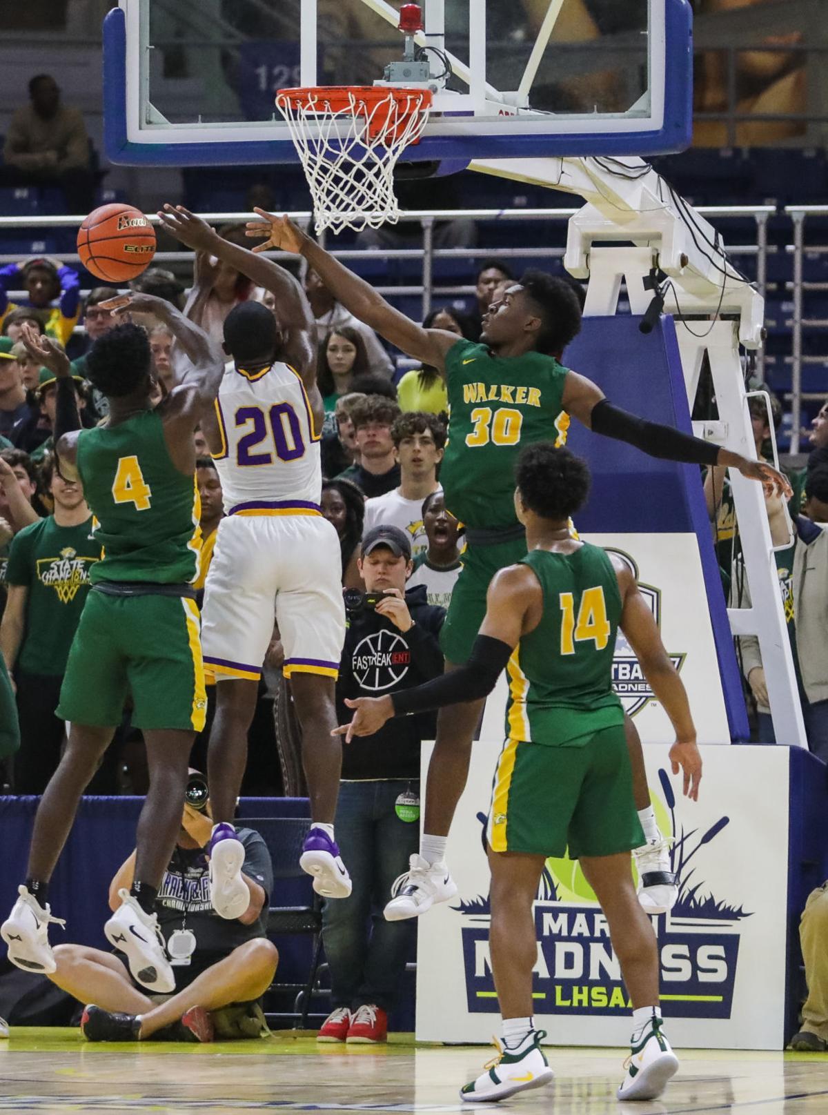 Walker vs. Thibodaux boys basketball Trent Montgomery Brian Thomas