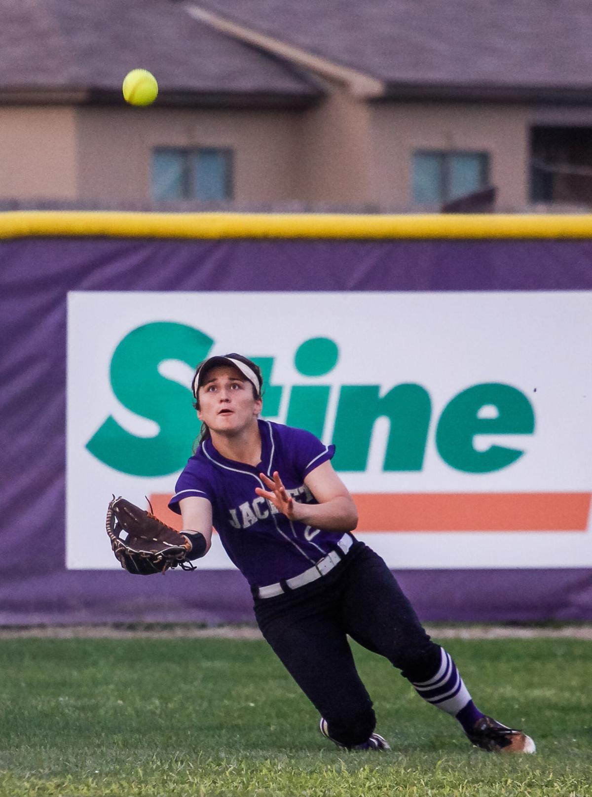Belle Chase at DSHS softball Rayne Minor