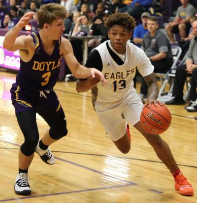 Doyle vs. Live Oak boys basketball - Lawrence Pierre, Brandon Keen