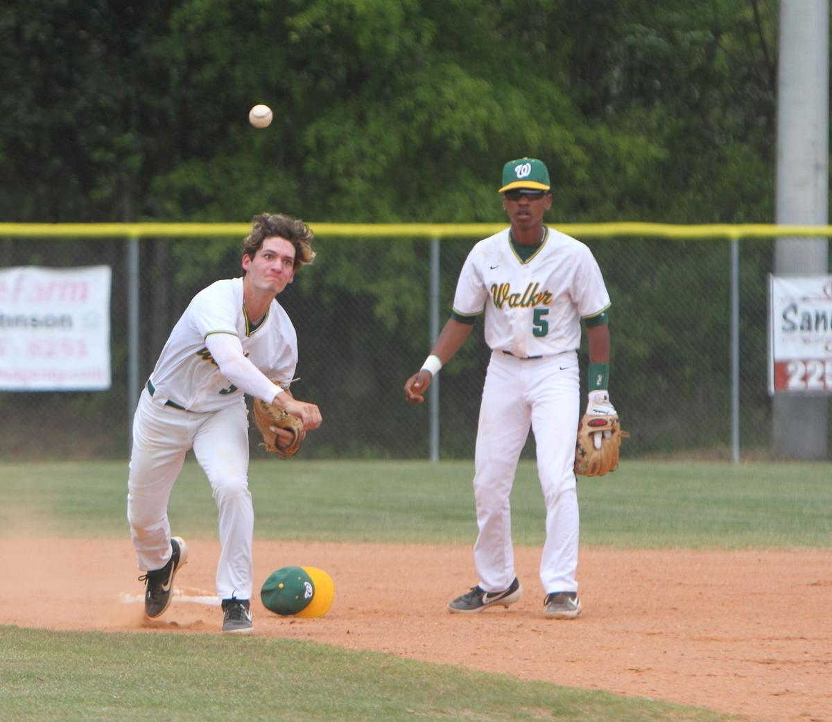 Denham Springs baseball vs. Walker: Cameron Crow, Armond Daigre