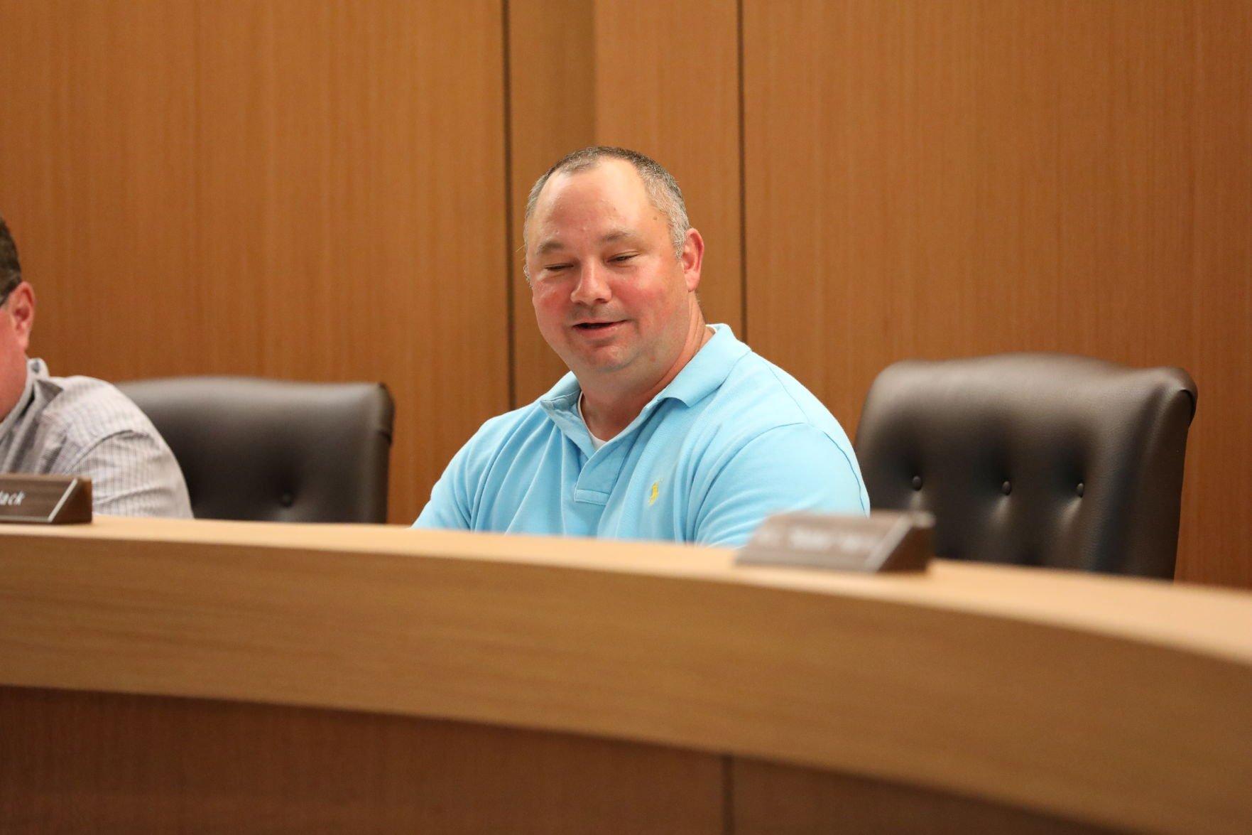 Parish Council Chairman Shane Mack