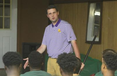 Walker basketball and Will Wade Celebration coach Wiill Wade