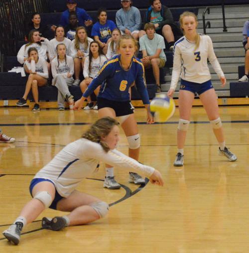 Live Oak vs. Landry Walker volleyball