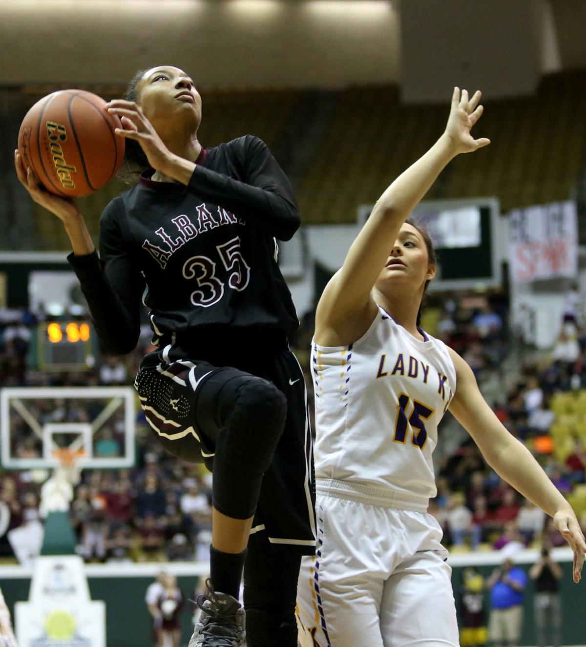Albany basketball Natalie Kelly