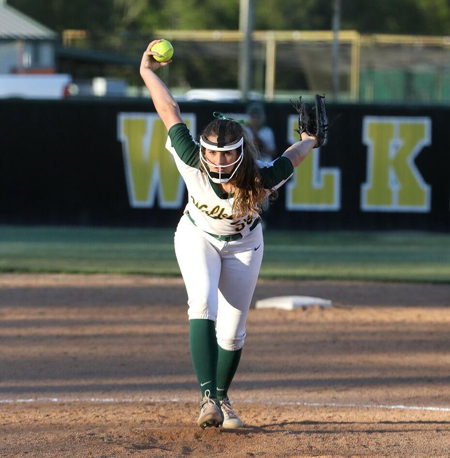 Live Oak vs Walker softball