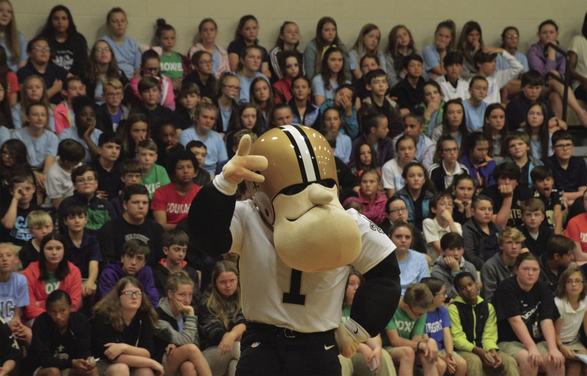 NCJH Saints Pep Rally