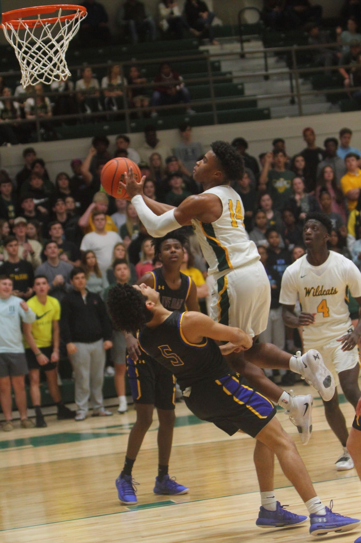 Walker boys basketball vs. Live Oak: Jalen Cook, DaDa Capling
