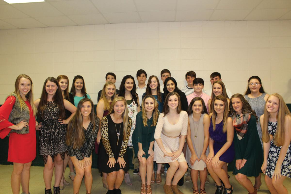 French Settlement High School welcomes new and returning Senior Beta Club members