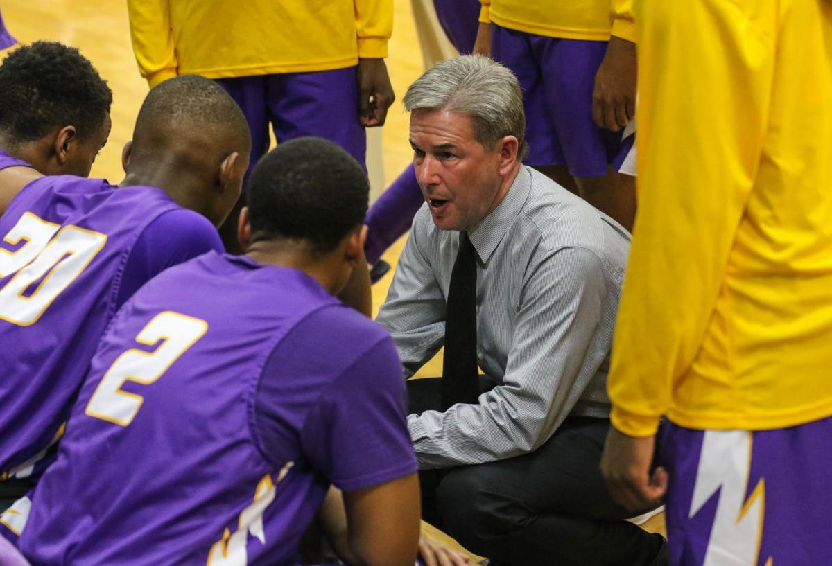 Denham Springs boys basketball vs East Ascension: Kevin Caballero