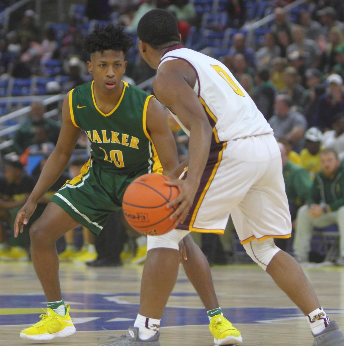 Walker vs. Nacitoches Central semifinal  Qaeshon Clark