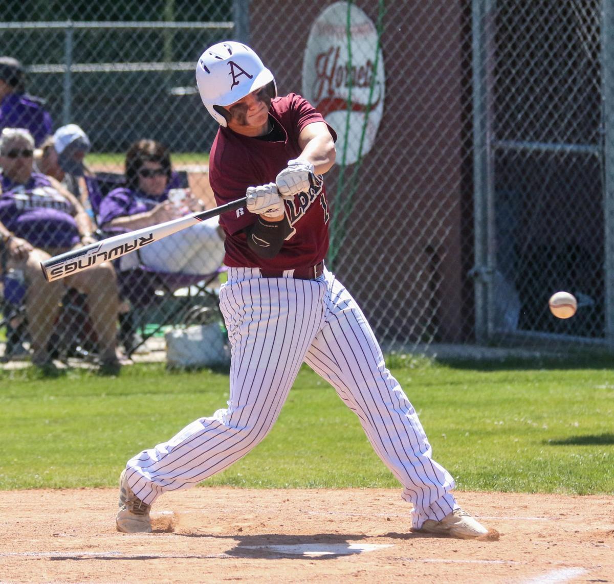 Albany vs Iowa baseball: Brock Bankston