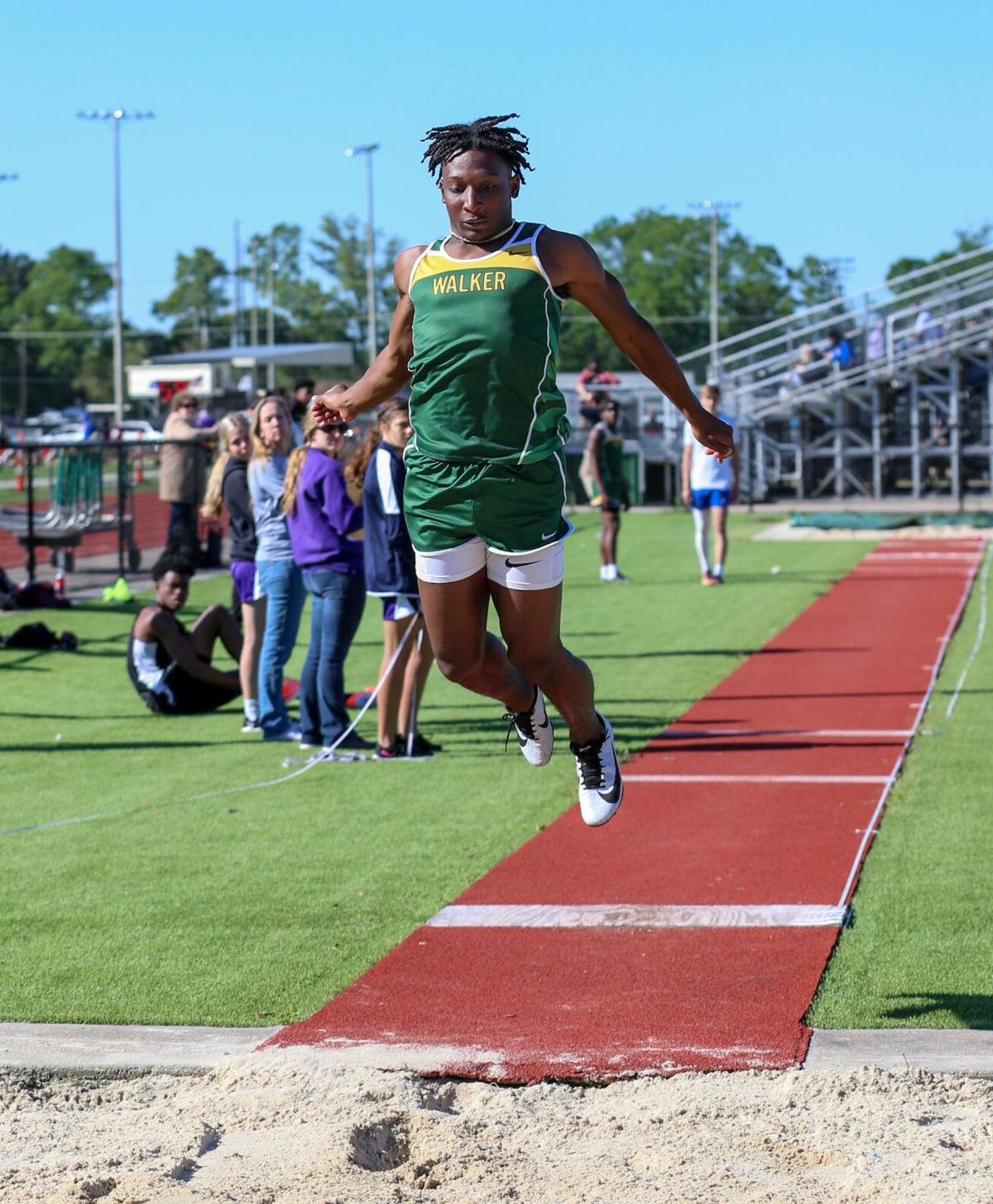 2021 Parish Track Meet Walker's Jaden Williams