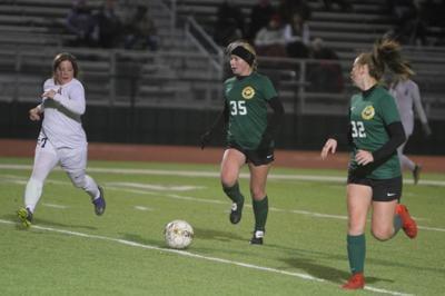 Walker girls soccer vs. Brusly: Shelby Wallace, Faith Walton