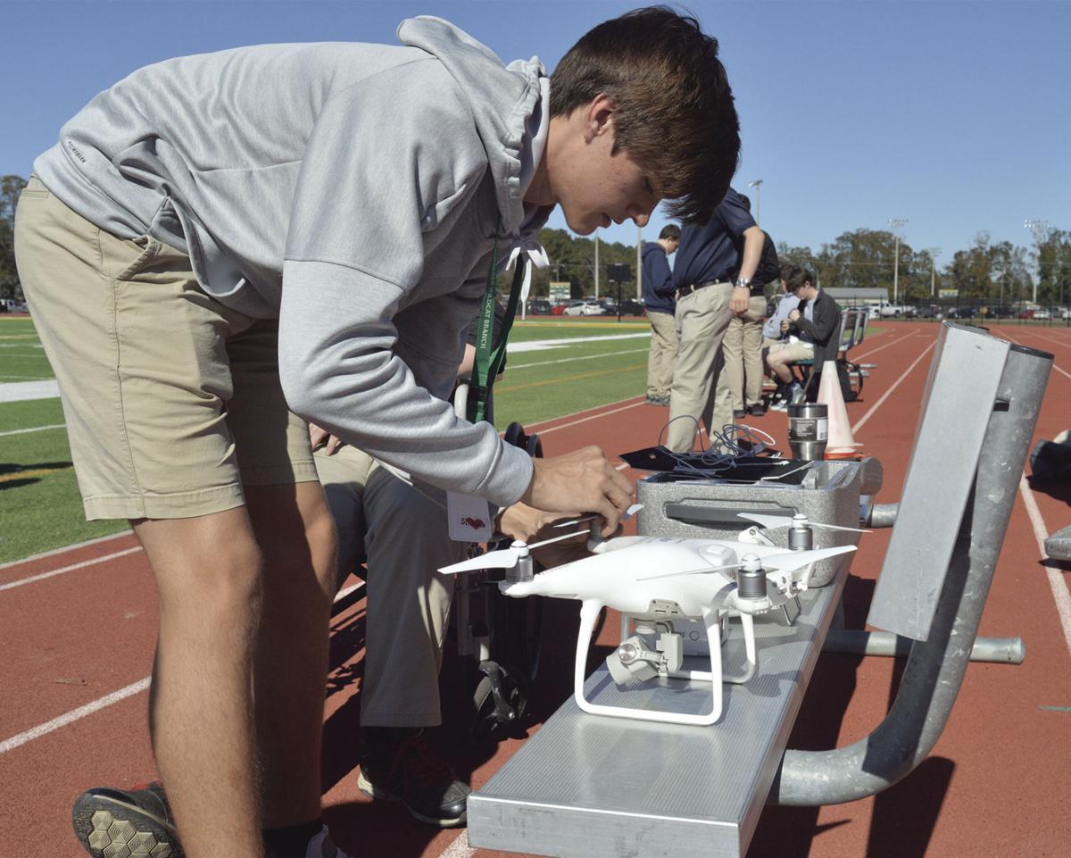 Walker High School drone program
