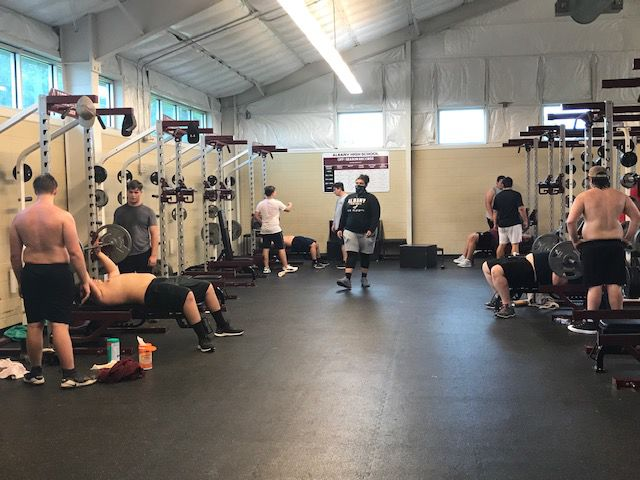 Albany weight room