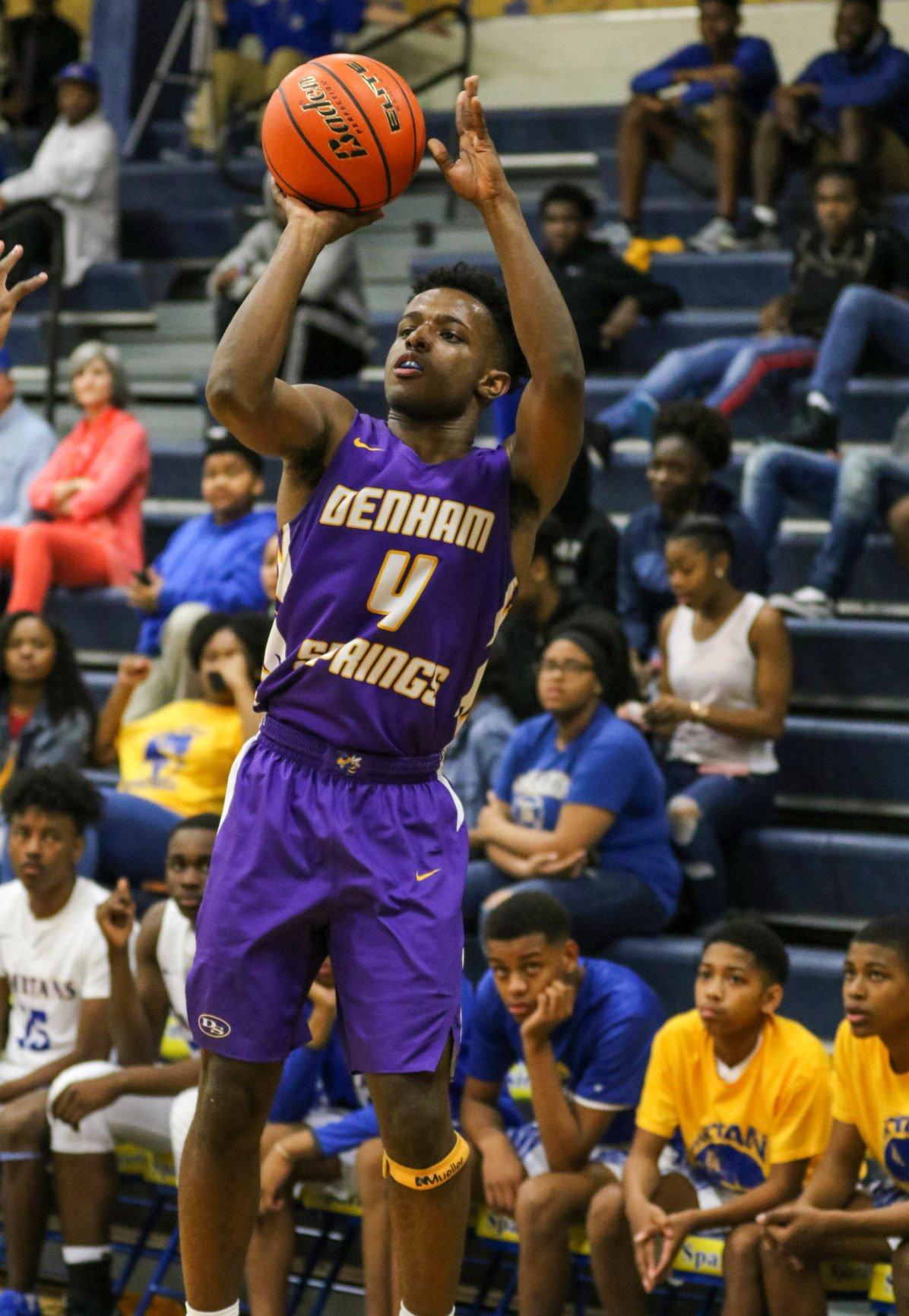 Denham Springs boys basketball vs East Ascension: Micah Banks