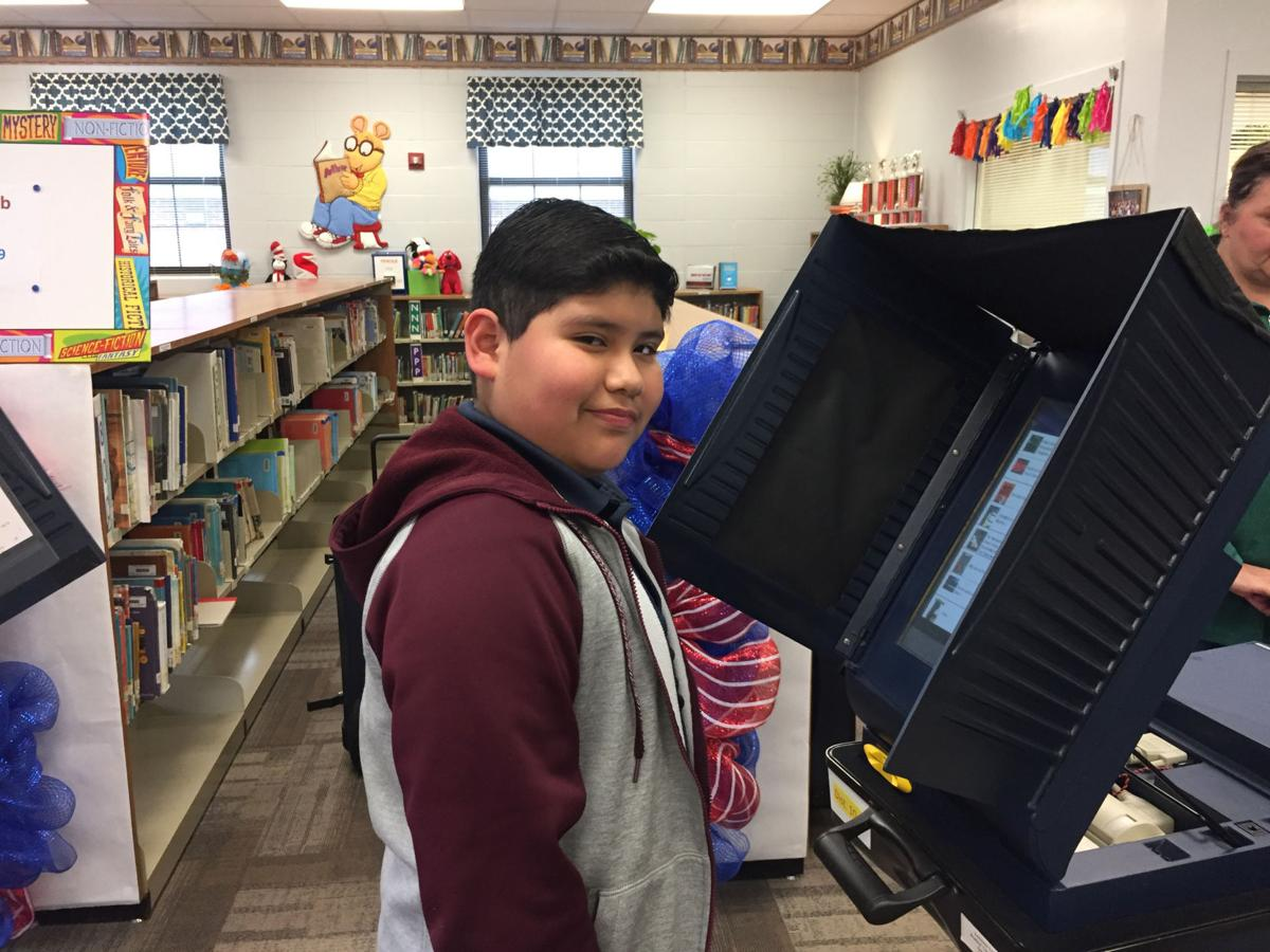 Seventh Ward Elementary 5th Grade Book Club casts votes
