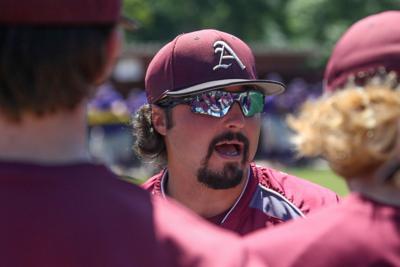 Albany vs Iowa baseball: Gabe Woods
