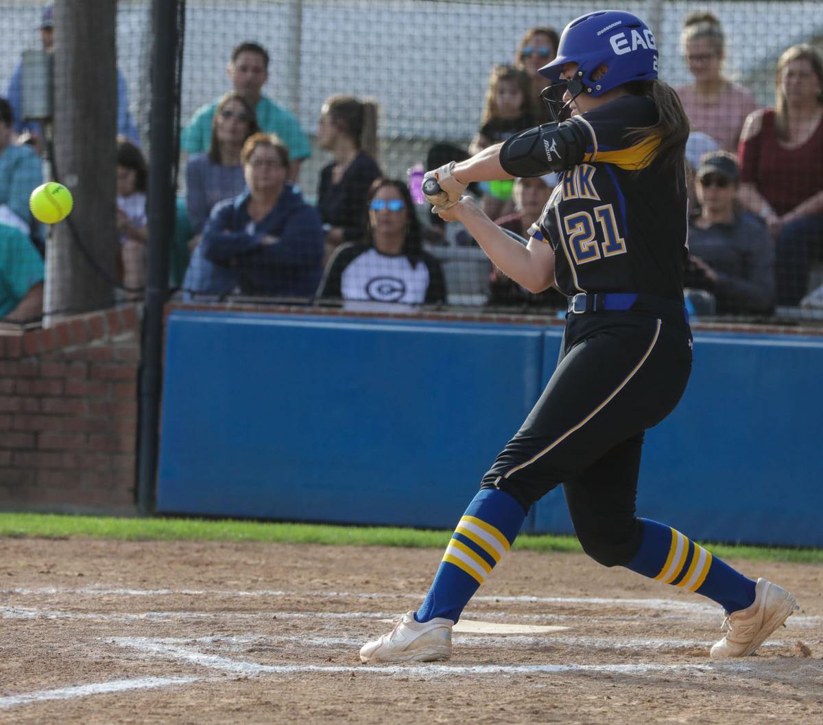 Central at Live Oak softball Brett Leiva