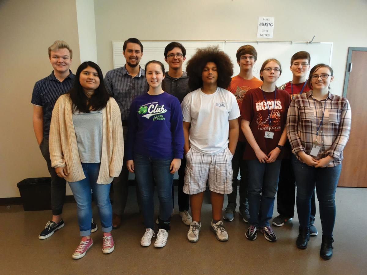 LSMSA students participate in Honor Band clinics