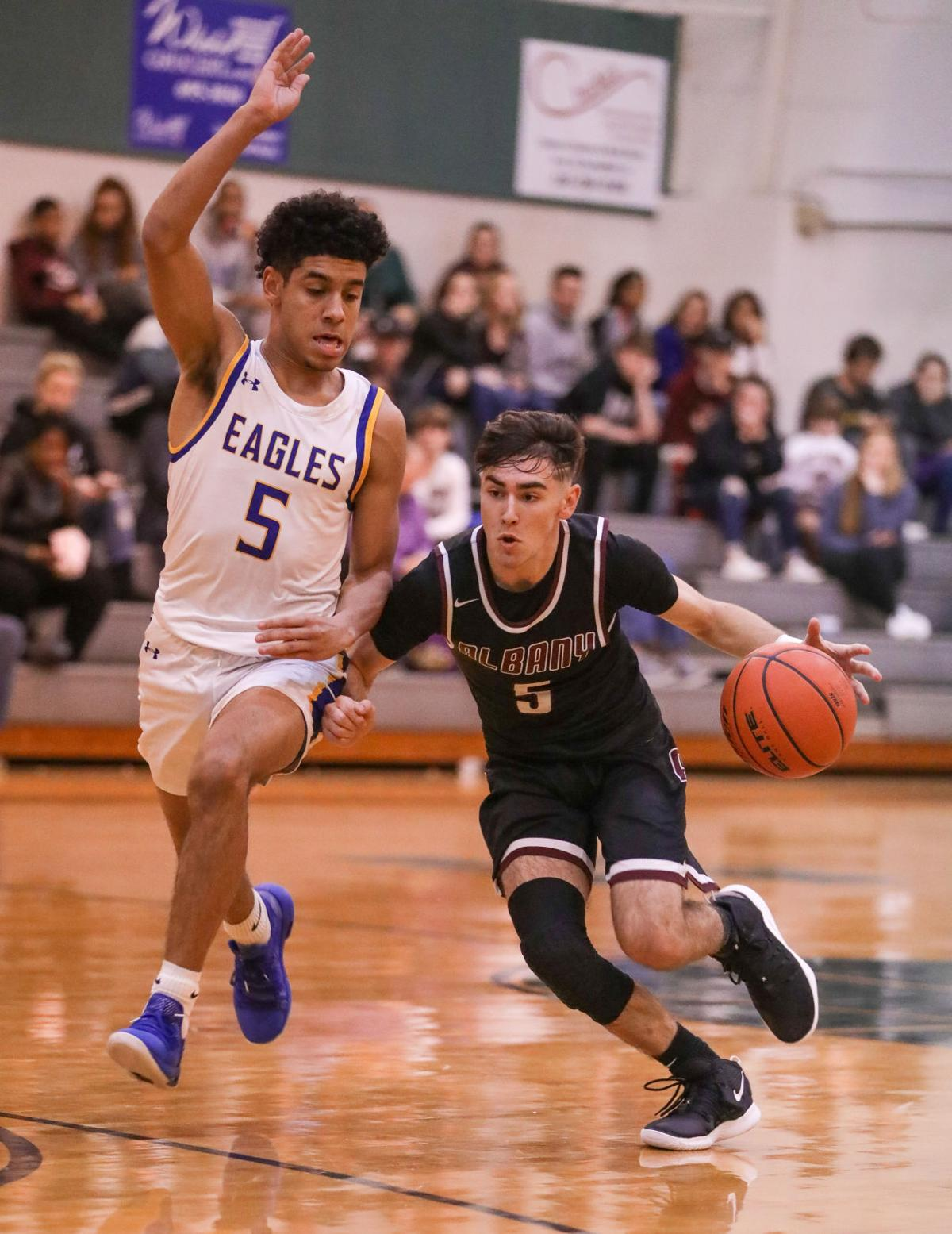Albany vs Live Oak boys basketball Trey Yelverton DaDa Capling