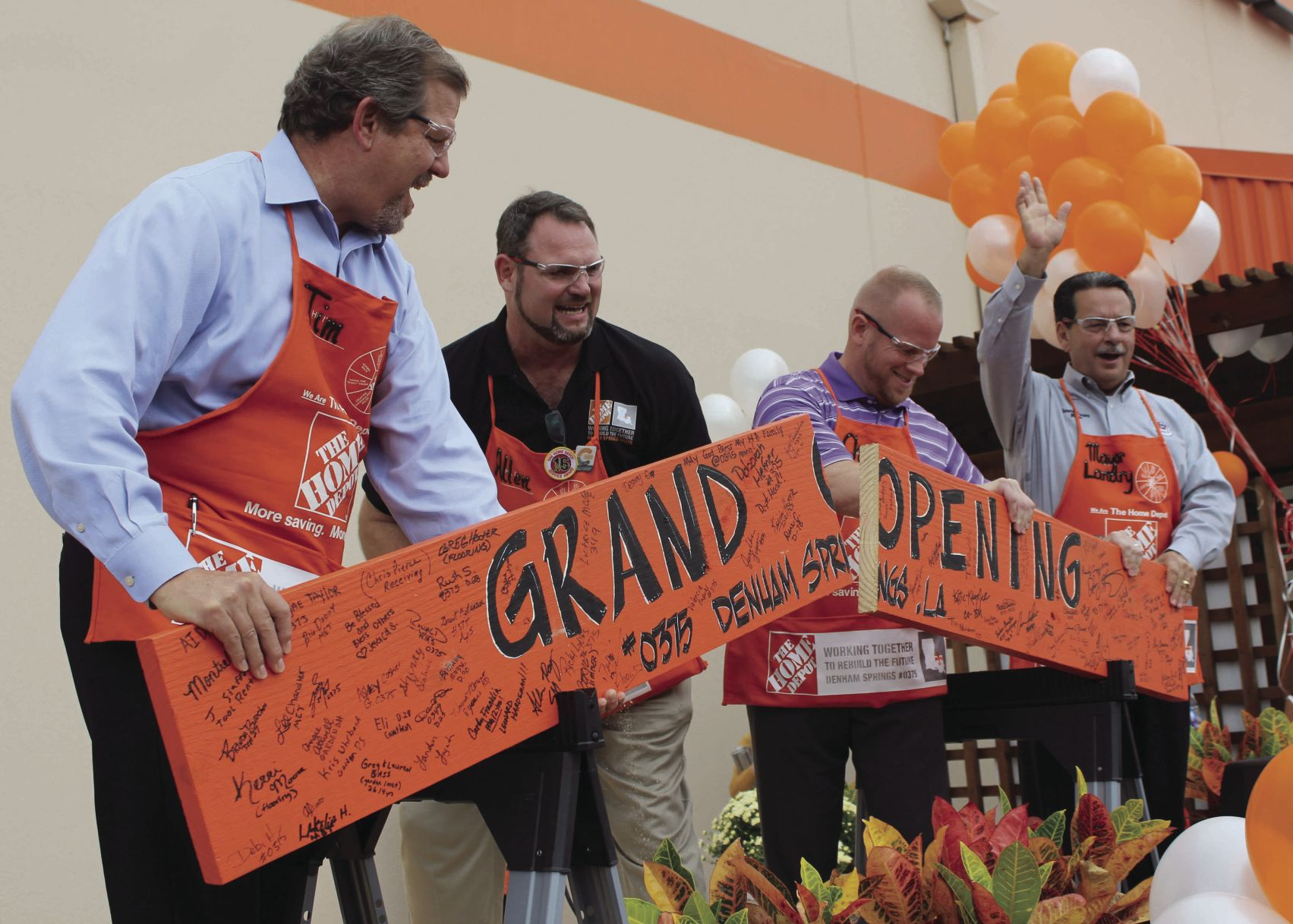 Exceptional Home Depot Reopening. Buy Now. Denham Springs ...