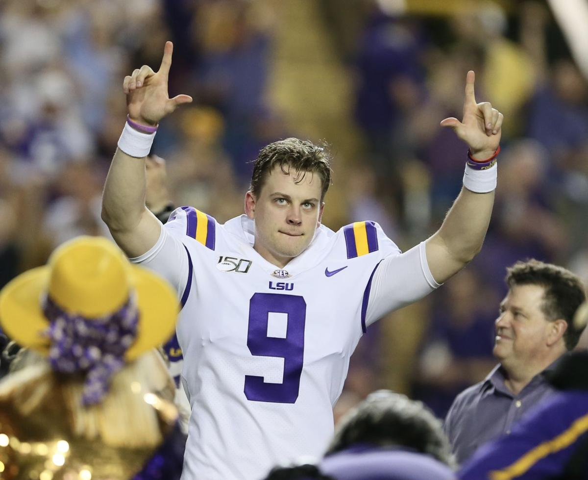 LSU vs. Texas A&M: Joe Burrow