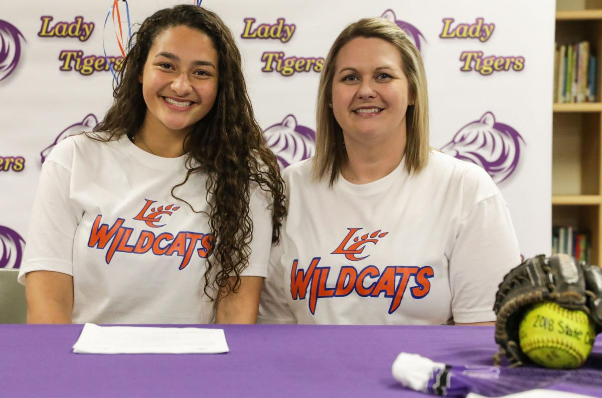 Alissa Ragas signs with Louisiana College Alissa and mother