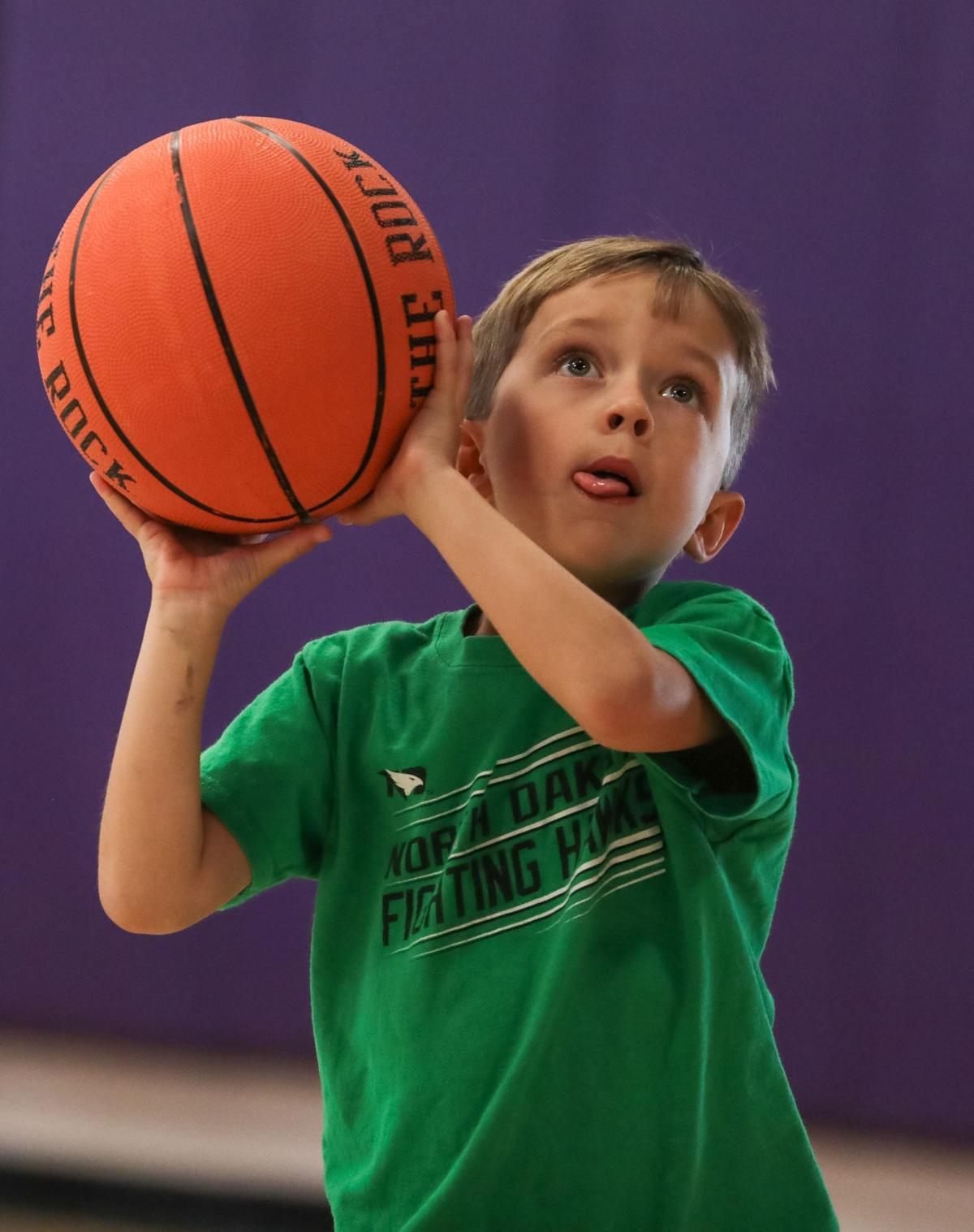 DSHS boys basketball camp Baylen Johnson