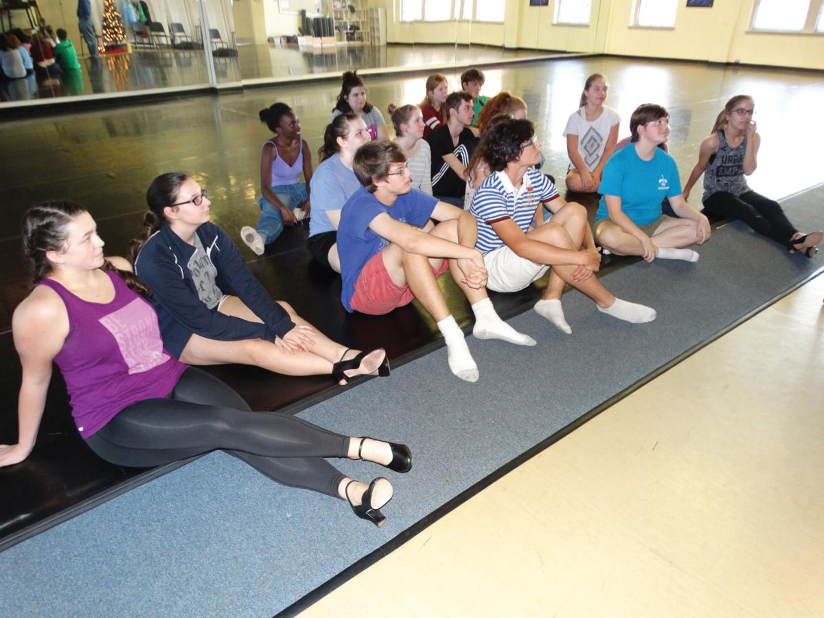 LSMSA students participate in swing dance master class