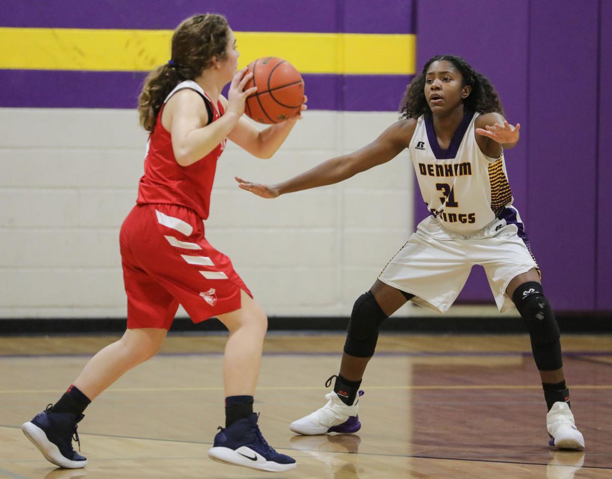 St Joseph at Denham Springs girls basketball Alexius Horne