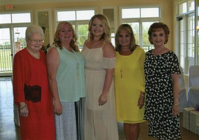 Bassett honored at bridal shower