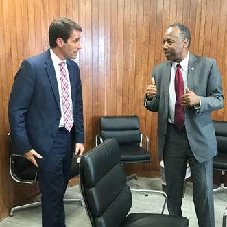 Congressman Graves meets HUD Secretayr Carson