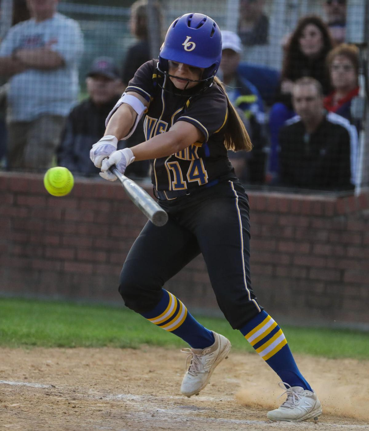 Central at Live Oak softball Emma Hunt
