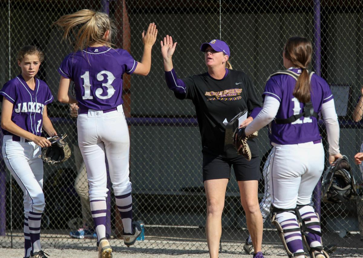 Zachary vs Denham Springs Softball: Leslie Efferson-Yellot, Natalie Parker