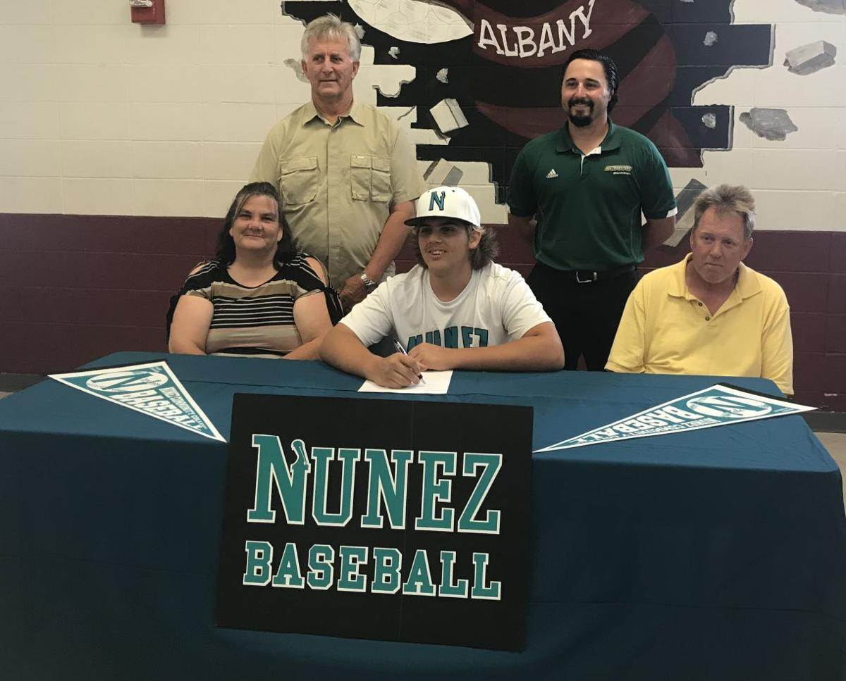 Albany's Joey Smith signs with Nunez Community College