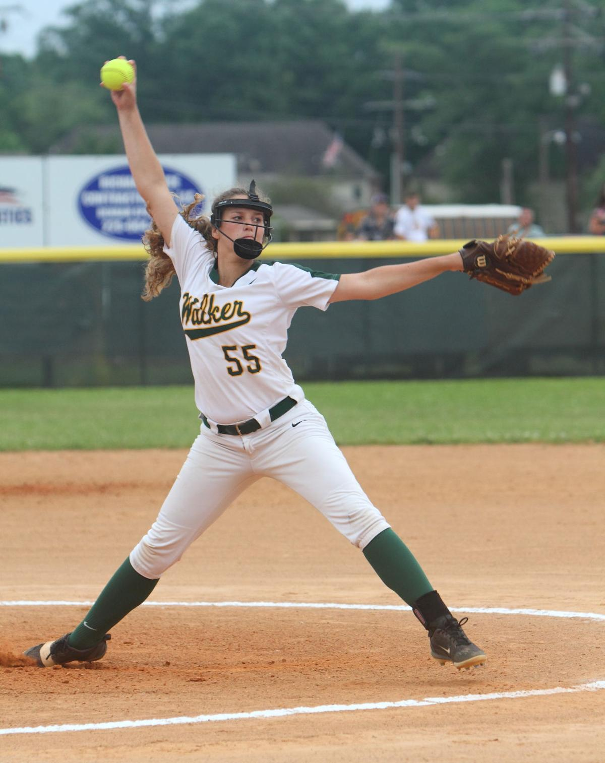 Walker-EA softball: Lainee Bailey