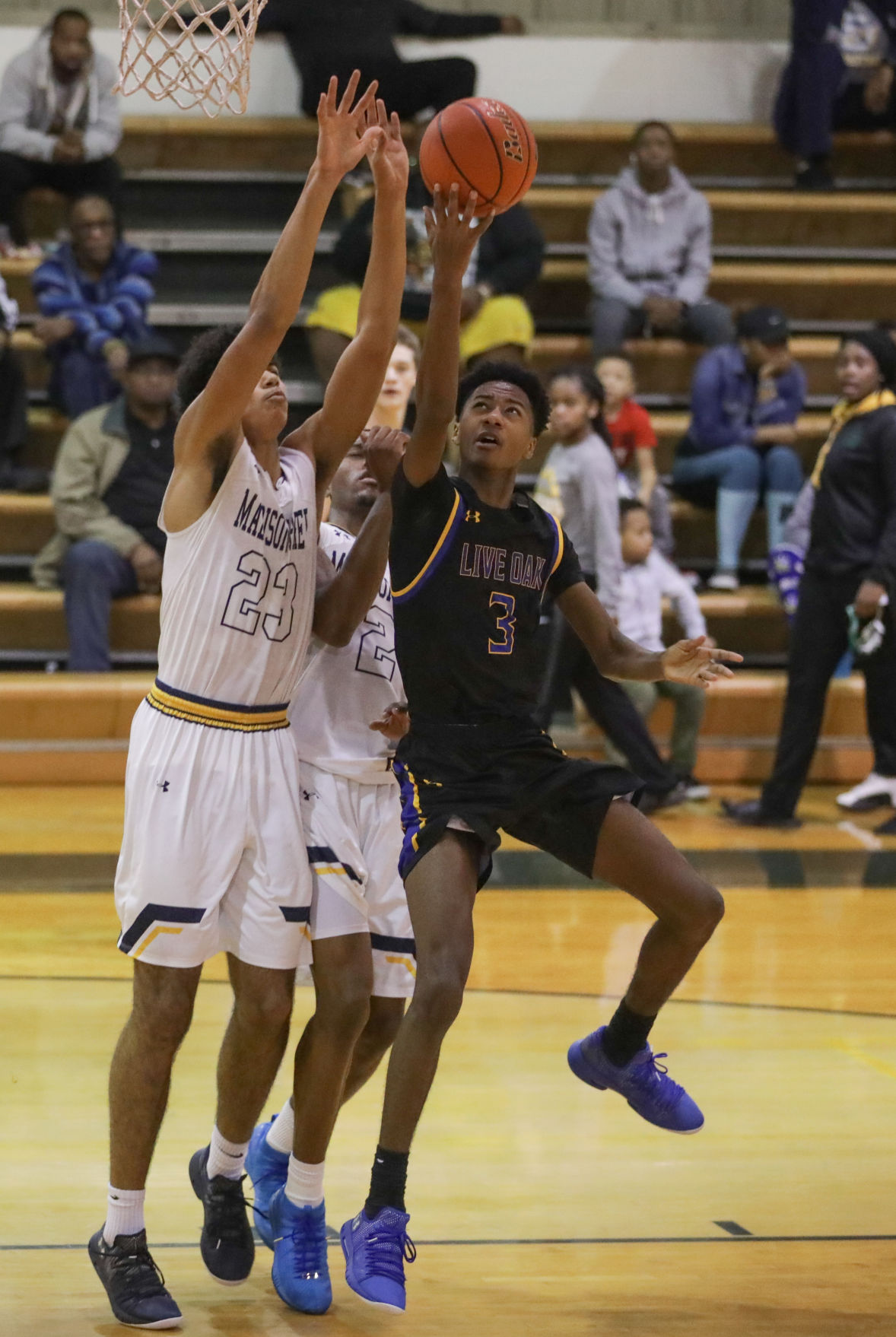 Madison Prep vs Live Oak boys basketball Bryan Bayonne Percy Daniels Jahein Spencer