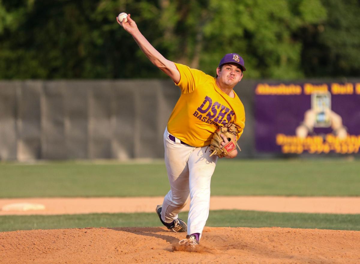 Denham-Dunham baseball Carter Holstein