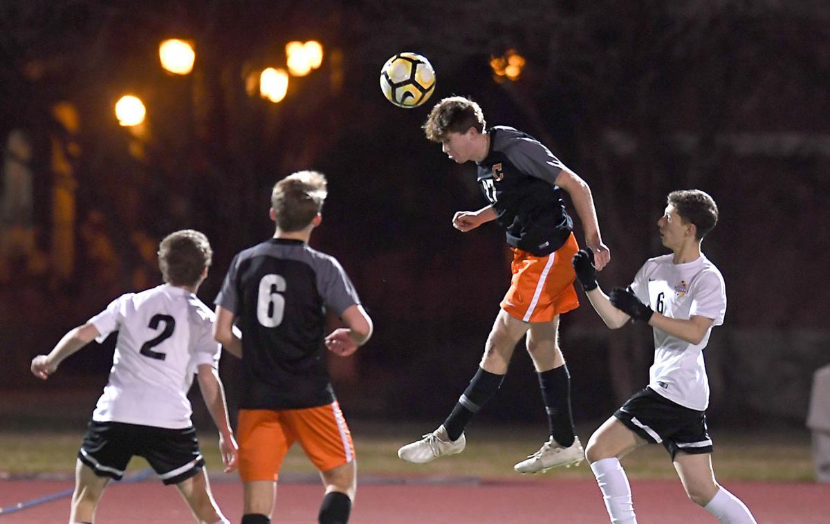 DSHS boys soccer vs. Catholic: Daniel Goerges (6), Luke Turner (2)