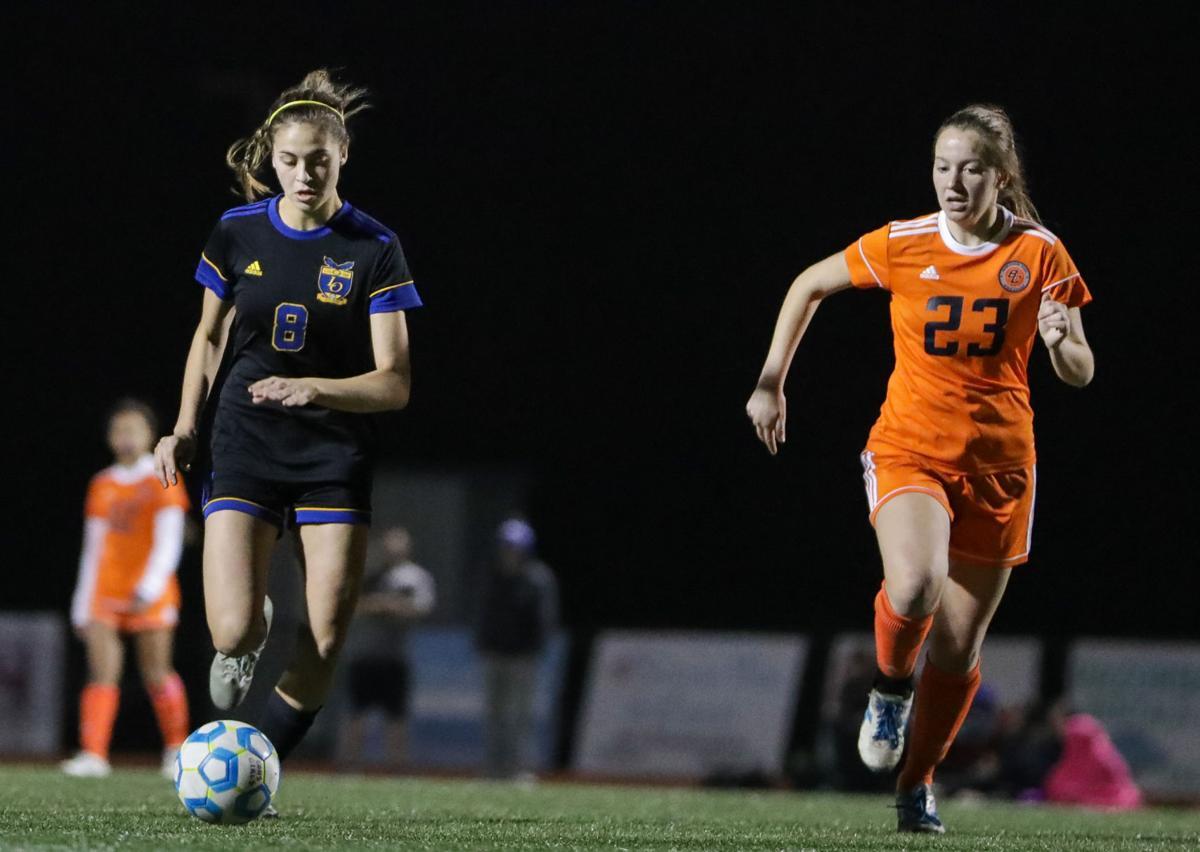 Beau Chene at Live Oak girls soccer Maddy Harrouch Victoria Higdon