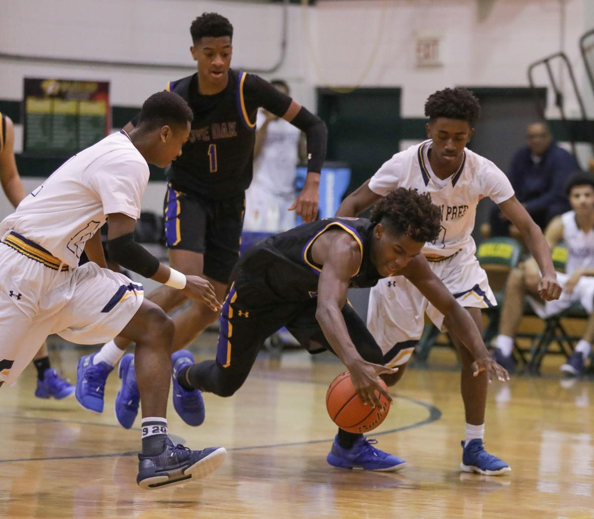 Madison Prep vs Live oak boys basketball Ahmad Pink