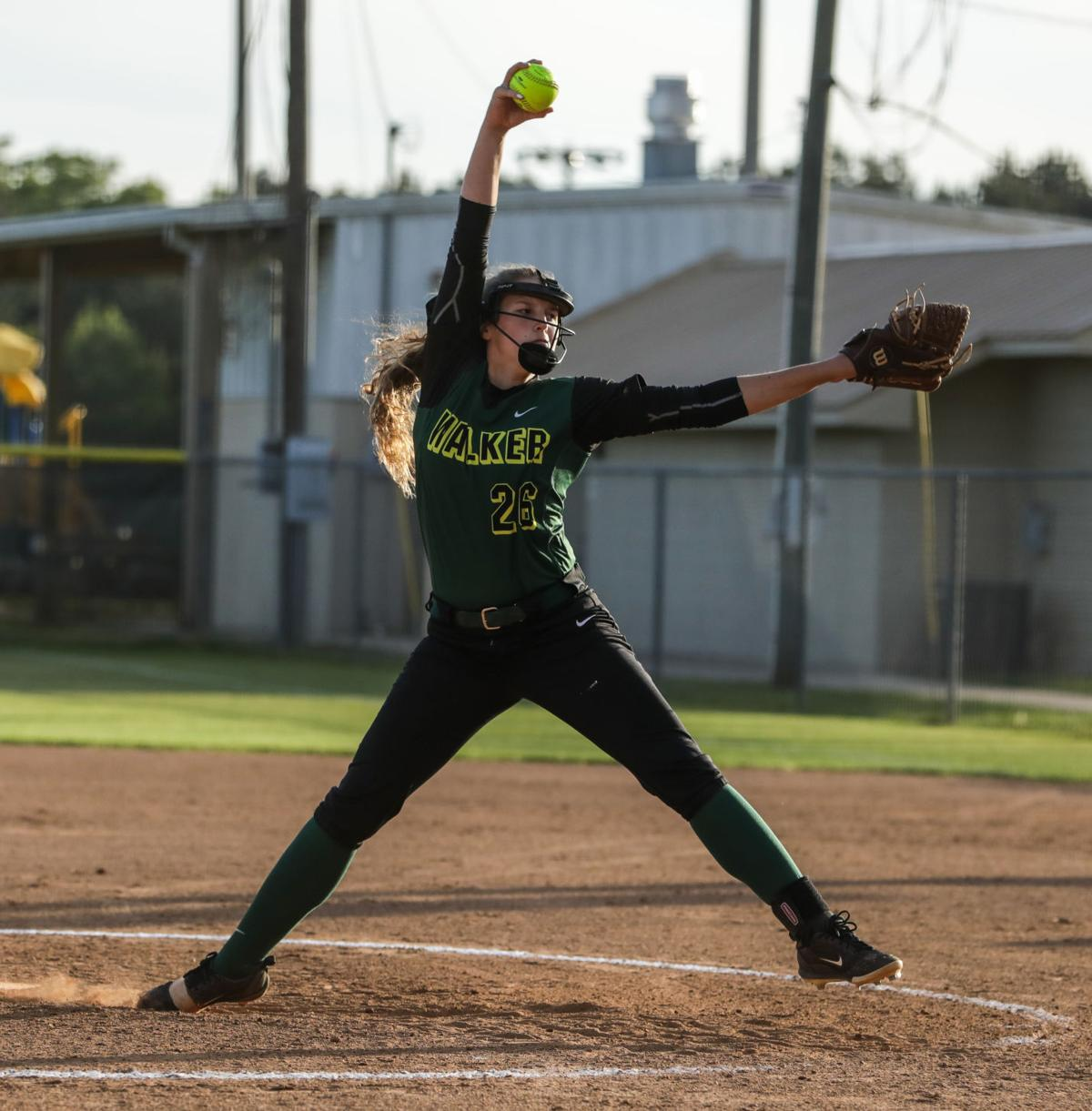 Walker at Live Oak softball Lainee Bailey