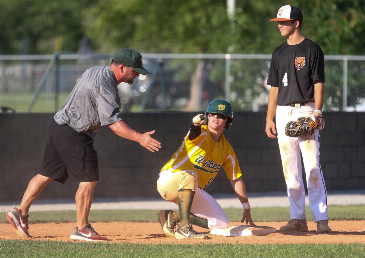 Walker summer baseball vs. Catholic: Camden Carver