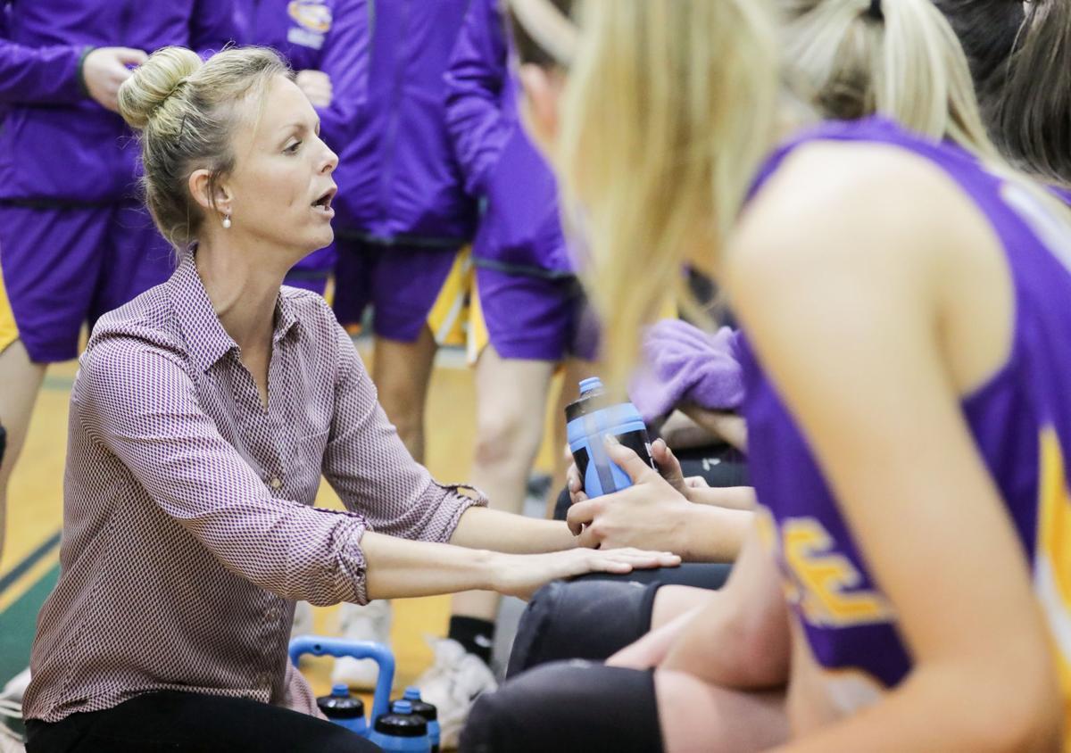 Albany vs Doyle girls basketball Samantha White