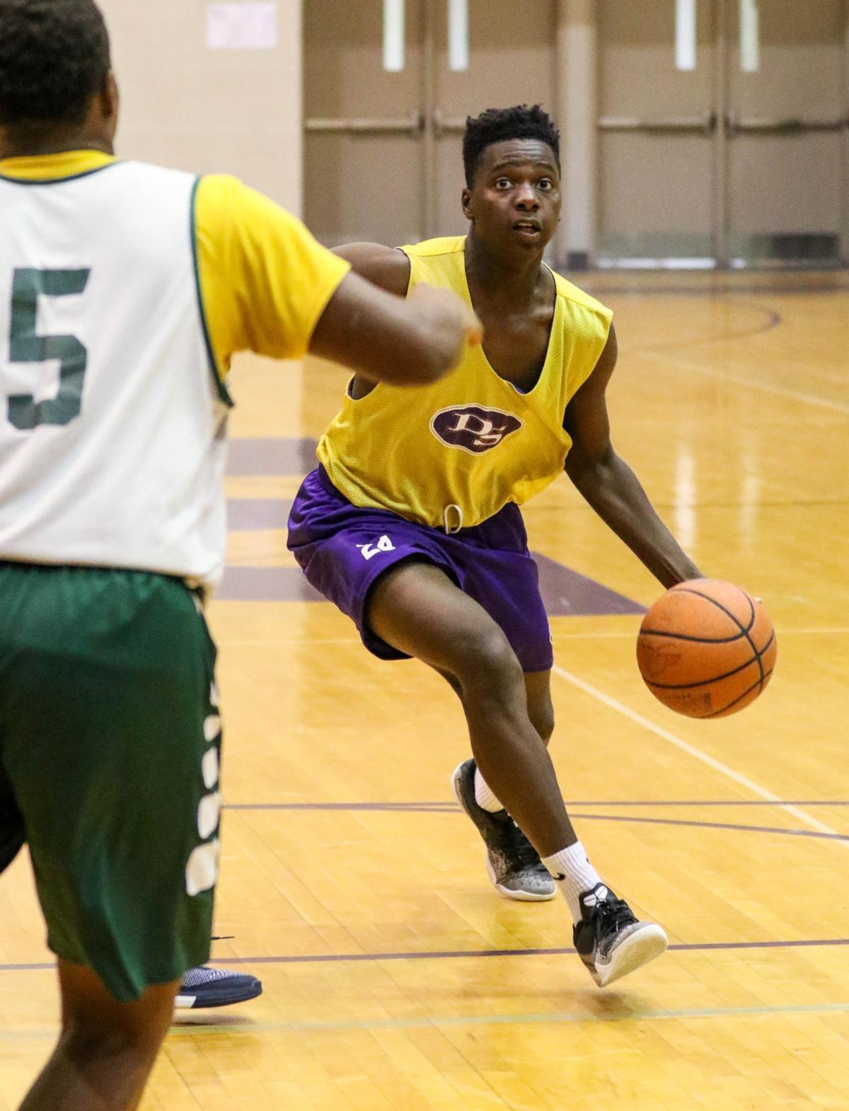 DSHS-Walker basketball Jabarry Fortenbarry