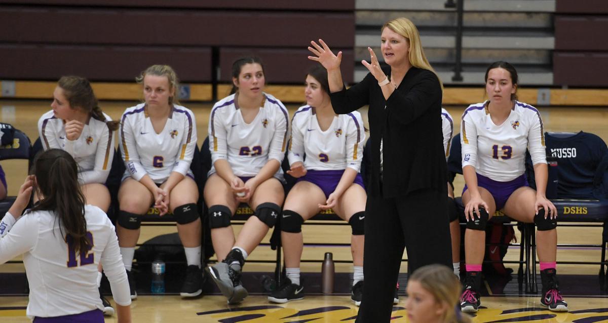 DSHS VB vs. St. Joseph's Academy: Pam Dubuy
