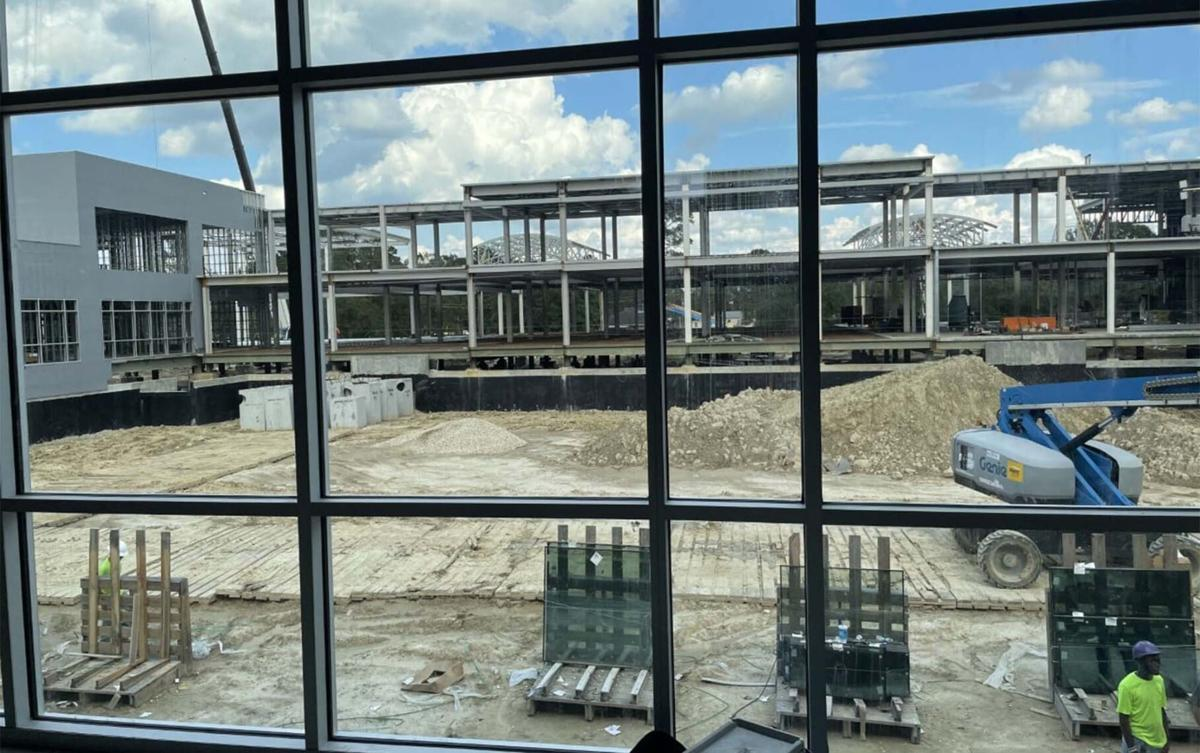 Construction continues on Southside mega campus