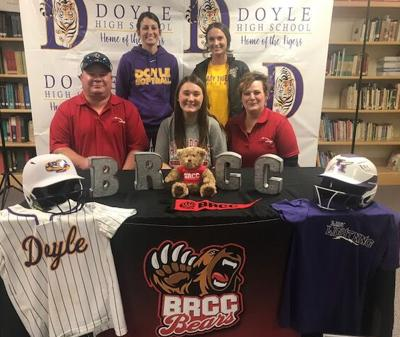 Doyle's Rebecka Lovett signs with BRCC